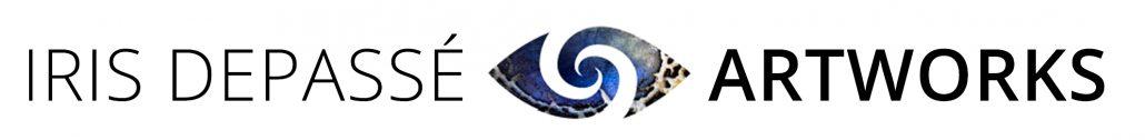 Tekst en logo Iris Depasse ArtWorks