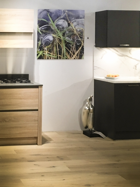 Fotokunst in de keuken