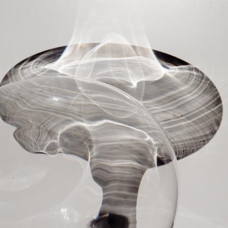 In een glazen bol